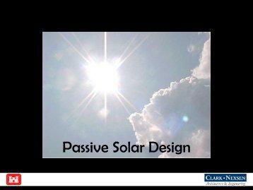 Passive Solar Design - Sustainable Sandhills