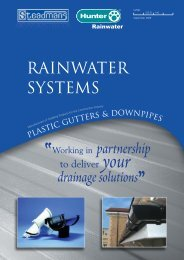 Rainwater Systems Brochure - Barbour Product Search