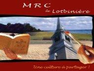 La bibliothèque: premier lieu culturel municipal - MRC Lotbinière