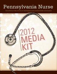 2012 Media Kit - Pennsylvania State Nurses Association