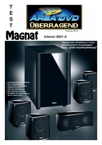 T E S T Interior 5001 A - Magnat