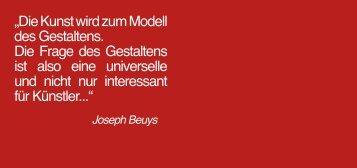 """""""Die Kunst wird zum Modell des Gestaltens. Die Frage des ..."""