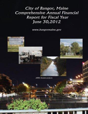 2012 - City of Bangor
