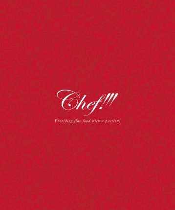 Chef Product Catalogue 2014/15