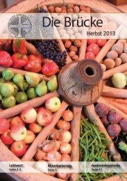 Gemeindebrief Herbst 2013 (PDF, 3,6 MB) - Evangelische ...
