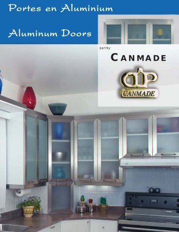 Portes en Aluminium Aluminum Doors - Canmade Furniture Products
