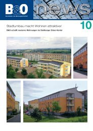 Stadtumbau macht Wohnen attraktiver - B&O - Lösungen für die ...