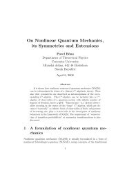 On Nonlinear Quantum Mechanics, its Symmetries and Extensions