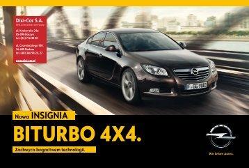 katalog Insignia BiTurbo 4x4 - Opel Dixi-Car
