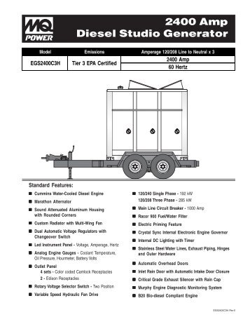 john deere ul 150 kw diesel generator specs hardy diesels and rh yumpu com Facilty Maintenance and Operation Manual Operation and Maintenance Manual Folder