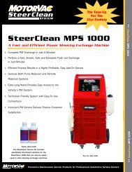SteerClean MPS 1000 - MotorVac