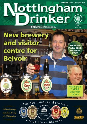 New brewery and visitor centre for Belvoir - Nottingham CAMRA
