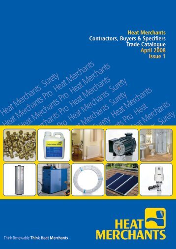 Trade Product Catalogue - Heat Merchants