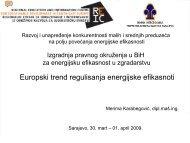 Evropski trend regulisanja energijske efikasnosti - Centar za ...