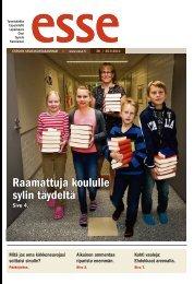 Esse 38/2012 (pdf) - Espoon seurakuntasanomat