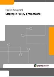 Strategic Policy Framework - PreventionWeb