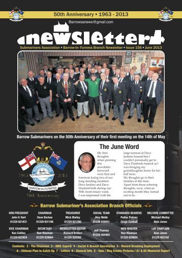 Newsletter - Barrow Submariners Association