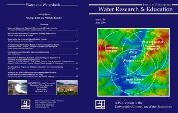 Full Journal of Contemporary Water Research and Education, Issue ...