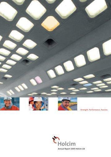 Annual Report 2005 Holcim Ltd Annual R eport 2005 Holcim Ltd ...