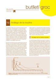 Anàlegs de la insulina - BG 2006 - Vol 19 nº 3