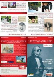 LISZTOMANIA 2011 - Liszt Festival Raiding