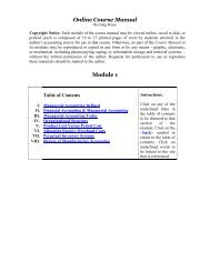 Module 1 - my-accounting