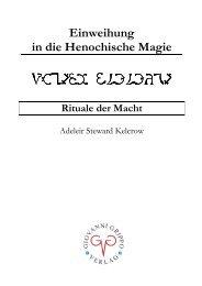 Rituale der Macht - 1. Auflage-NEU - Giovanni Grippo Verlag