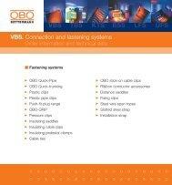 VBS. Fastening systems - getel.gr