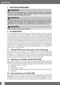 Bedienungsanleitung Atemregler - Scubapro - Seite 4
