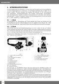 Bedienungsanleitung Atemregler - Scubapro - Seite 6