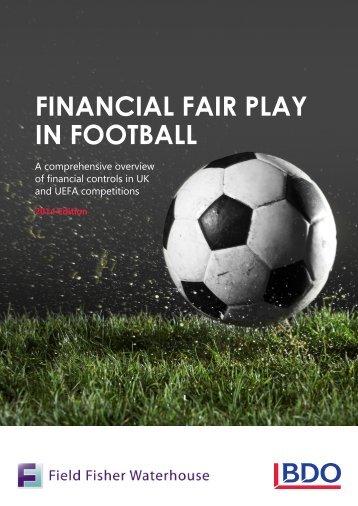 Financial Fair Play in Football 2014