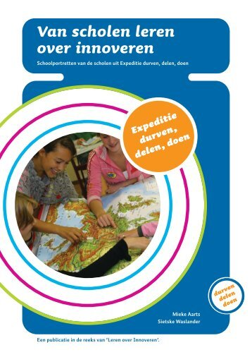Download de brochure 'Van scholen leren over innoveren' - VO-raad