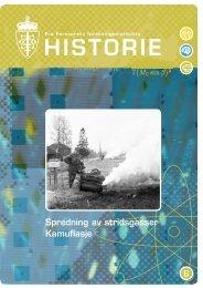 Kamuflasje - Spredning av stridsgasser - Forsvarets forskningsinstitutt