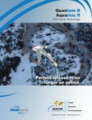 Quantum R Aquarius R - Xerium Technologies, Inc.