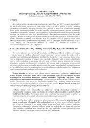 dlhodobý zámer štátnej vednej a technickej politiky do roku 2015