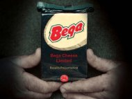 Bega Cheese PowerPoint Presentation for Appendix 4D Half Year ...
