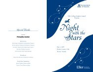 Night with the Stars Program.5.1.09.indd - Eller College of ...