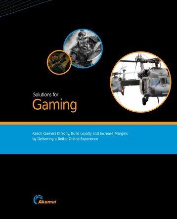 Gaming - Akamai