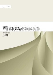Volvo S40/V50 (2004-) Electronic Wiring Diagrams