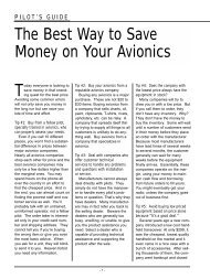 The Best Way to Save Money on Your Avionics - Aircraft Electronics ...