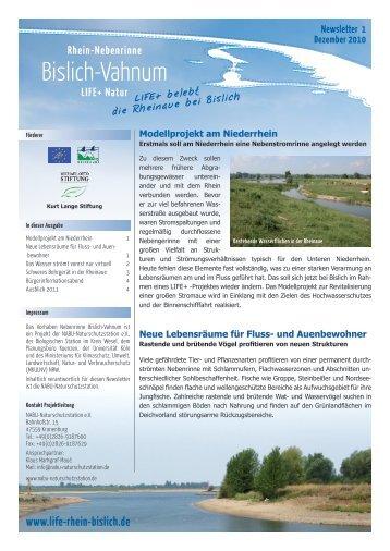 Screen-Version (520 KB) - Rhein Nebenrinne Bislich Vahnum