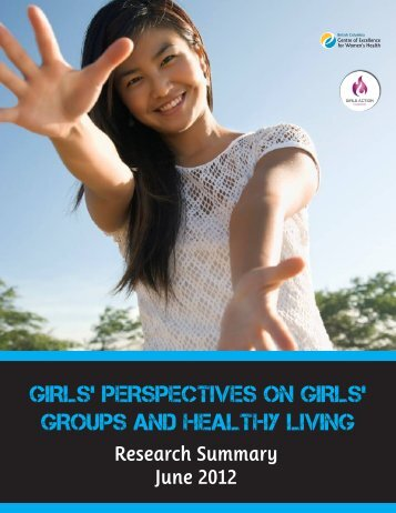 girls' perspectives on girls' groups and healthy living - British ...