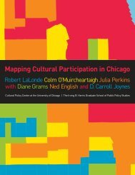 Mapping Cultural Participation in Chicago - Cultural Policy Center ...