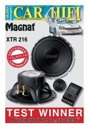 Magnat CAR FIT Style CFS 213 Casse per auto 200 W