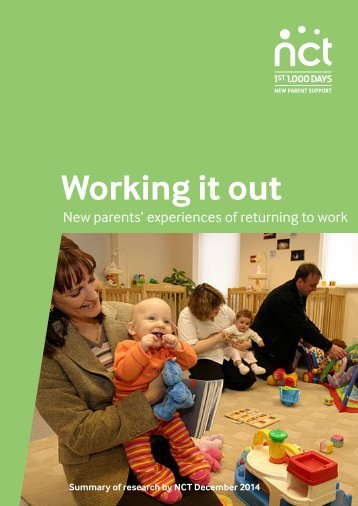 Working it Out report summary