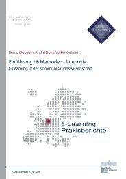 Praxisbericht 29 - ERCIS - European Research Center for ...