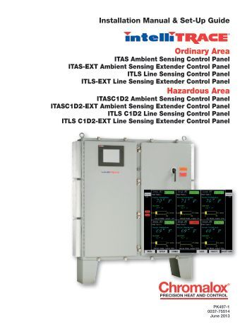 80 series quick start manual chromalox precision heat and control itas ext installation manual chromalox precision heat and control