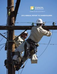 2012 ANNUAL REPORT TO SHAREHOLDERS - Edison International
