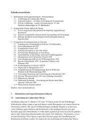 Inhaltsverzeichnis und Einführung.