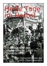 Zur Geschichte des Oktoberstreiks 1950 in Oberösterreich - KPÖ ...